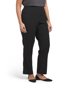 Plus No Gap Waist Trouser Pants