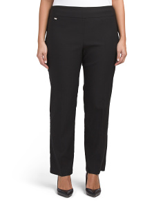 Plus Super Lux Stretch Ankle Pants