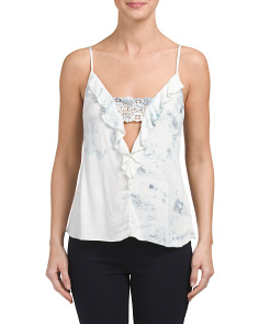 Made In Usa Deep V Camisole