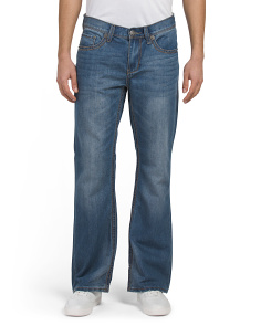 Sonic Big Stitch Boot Cut Jeans