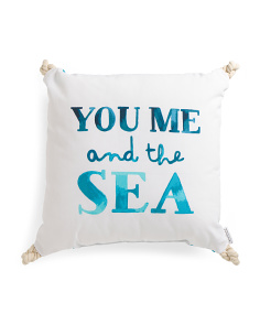 20x20 You Me And The Sea Pillow