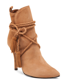 Made In Brazil Fadhila Suede Booties