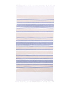 Made In Brazil Fouta Beach Towel