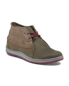 Artesian Chukka Leather Sneakers