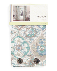 40x84 Ali Baba Set Of 2 Curtains