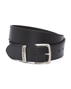38mm Grained Leather Belt