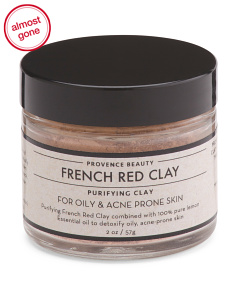2oz French Red Clay Mask