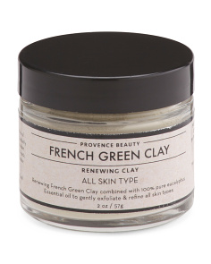 2oz French Green Clay Mask