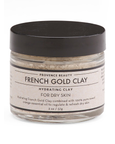 2oz Gold Clay Mask