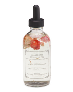 4oz Globe Amaranth Flower Multi Use Oil