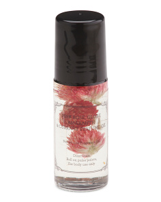 1oz Glass Globe Amaranth Flowers Perfume Oil