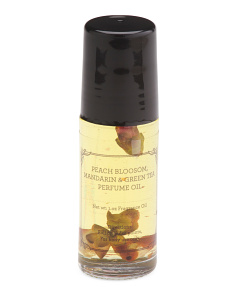1oz Glass Peach Blossom Flowers Perfume Oil