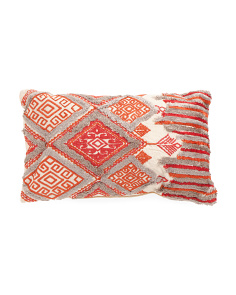 14x24 Geometric Pattern Pillow
