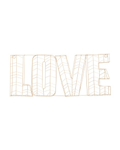 20in Love Wire Sign