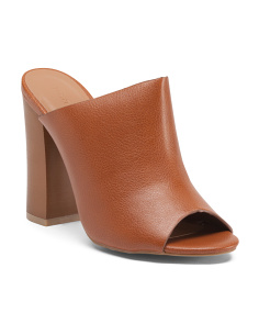 Embark Peep Toe Clogs