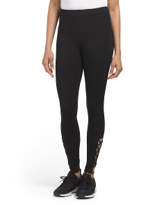 Cut Out Bottom Detail Leggings