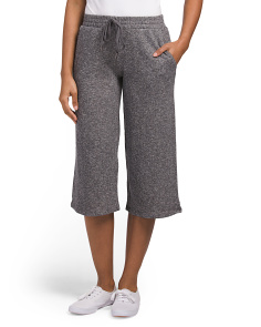 Juniors French Terry Gaucho Pants