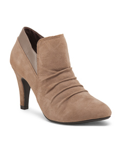 Suede Shooties