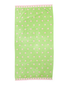 Kids Double Jaquard Velour Towel