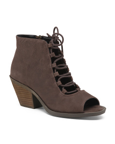 Ghillie Leather Booties