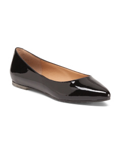 Aimee Patent Leather Ballet Flats