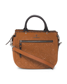 Highland Park Leather Satchel