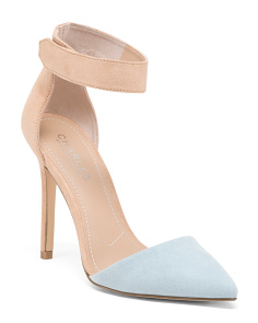 Two Tone D'orsay Pumps