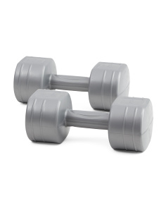 7.5lbs Cement Dumbbell Pair