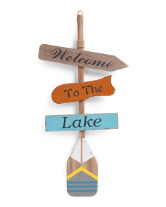 Lake Wall Decor