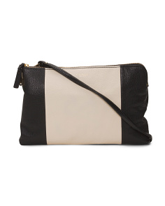 Cybil Leather Crossbody