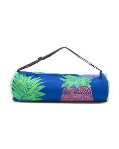 Indoor Outdoor Geo Pineapples Picnic Blanket
