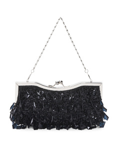 East West Jewel Evening Clutch