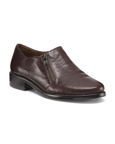 Publisher Leather Loafers