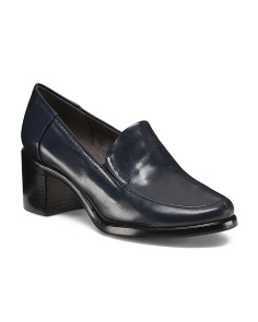 Heart Throb Leather Loafers