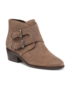 Urban Myth Suede Booties