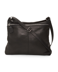 Lorna Leather Convertible Crossbody