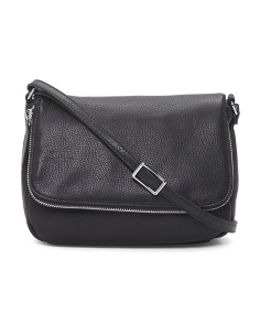 Preston Leather Crossbody