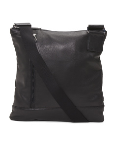Leather Sport Crossbody