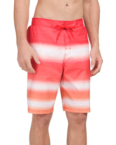 Tie Waist Swim Trunks