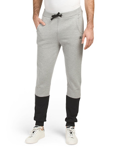 Sweatpants With Contrast Ankle