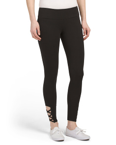 Criss Cross Detail Leggings