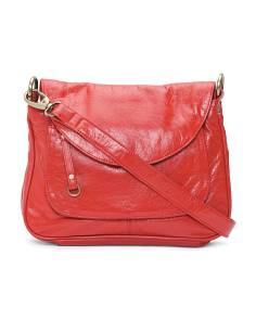 Large Leather Crossbody
