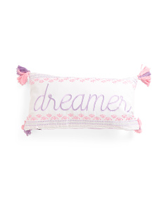 Kids 14x27 Dreamer Pillow