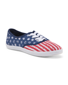 American Flag Canvas Sneakers