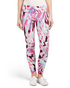 Inner Brush Print Leggings