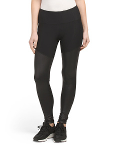 Leggings With Contrast Bottom