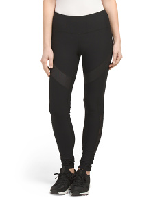 Mesh Inseam Leggings