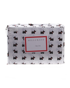 Scottie Microfiber Sheet Set