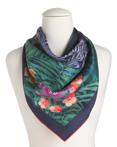 Made In Italy Luxury Silk Scarf