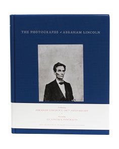 The Photographs Of Abraham Lincoln Book